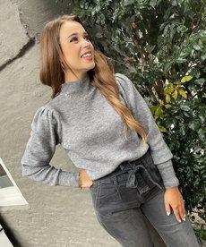 Nukus Lana Pullover - Light Grey