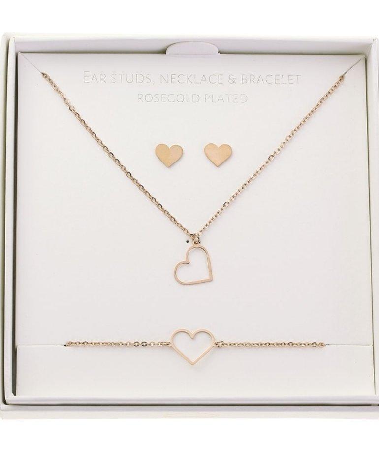 ByJam ByJam Gift Set Rose - Heart