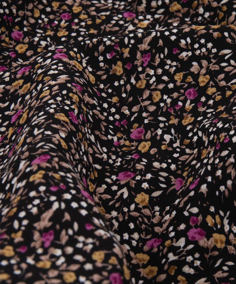 Ydence Ydence Dress Judy - Black Flower