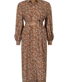 Ydence Dress Valentina - Brown Flower