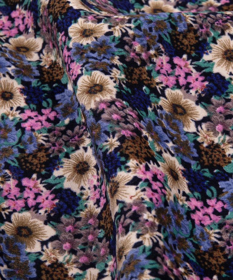 Ydence Ydence Dress Valentina - Blue Flower
