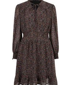 Ydence Dress Judy - Black Flower