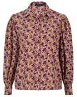Ydence Ydence Blouse Dagmar - Purple Flower