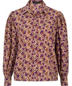 Ydence Blouse Dagmar - Purple Flower