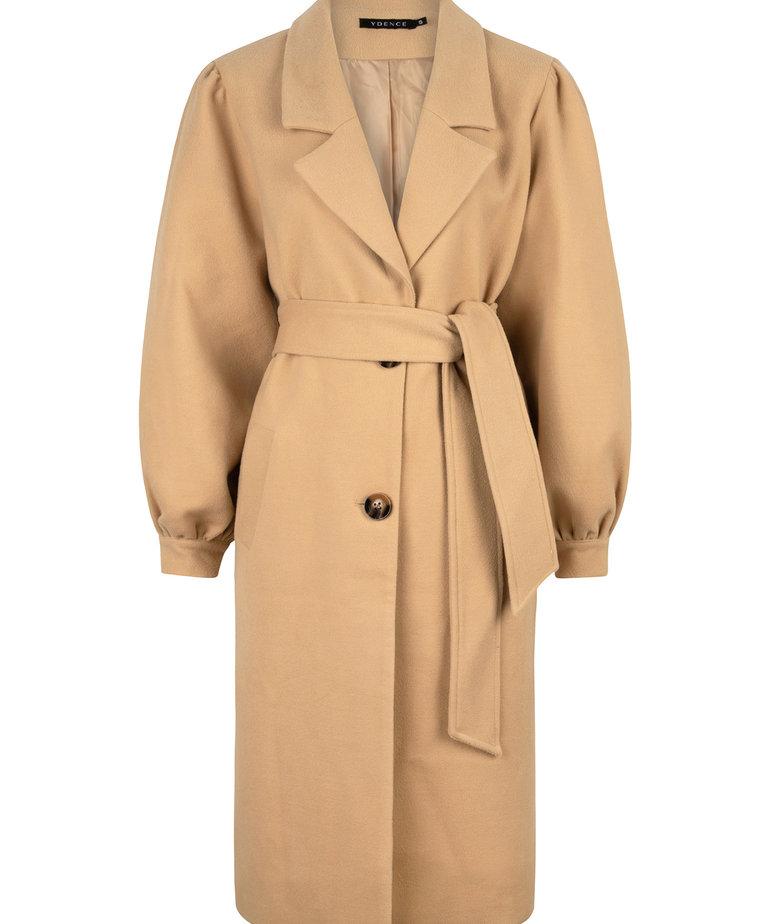 Ydence Ydence Coat Melody - Camel