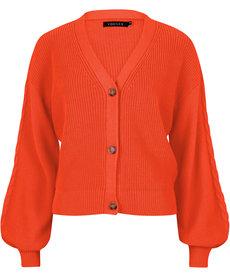 Ydence Cardigan Quin - Orange