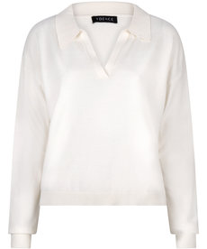 Ydence Knitted Top Gina - Off White