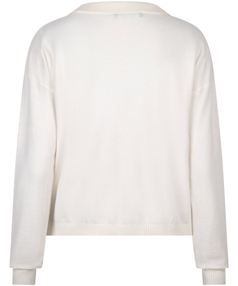 Ydence Ydence Knitted Top Gina - Off White
