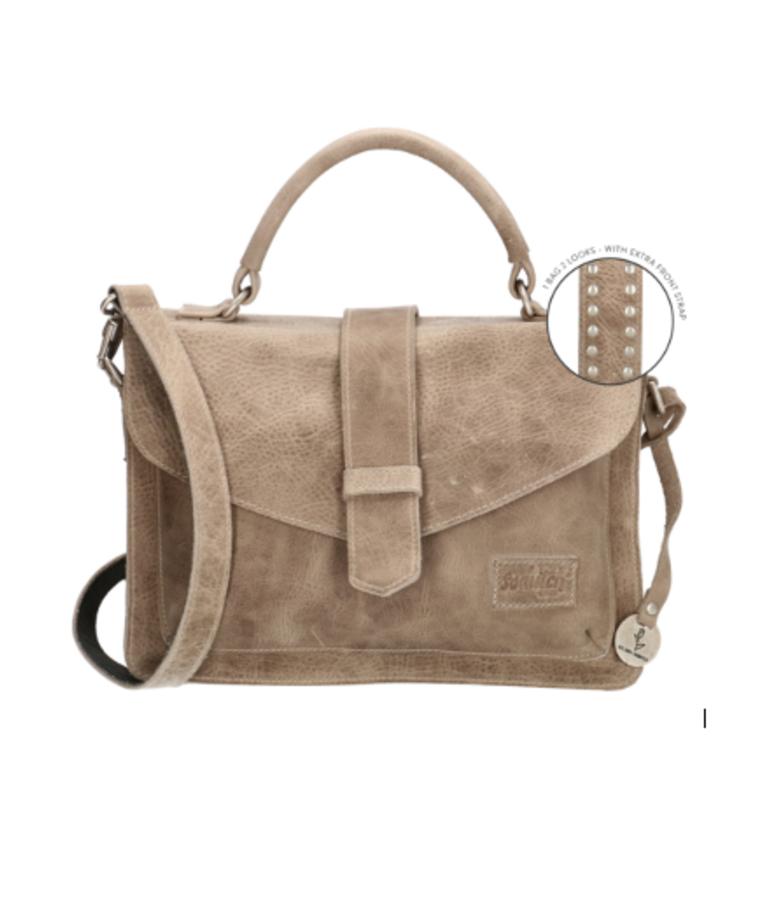 So Dutch Bags So Dutch Bags Handtas Raider - Taupe