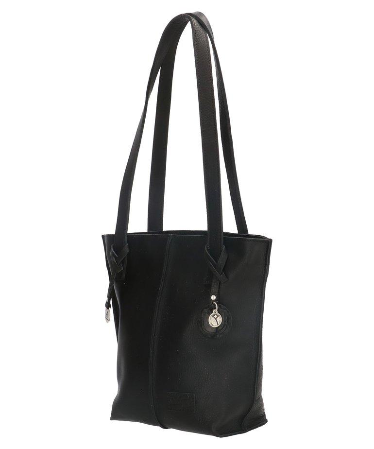 So Dutch Bags So Dutch Shopper Tulp - Zwart
