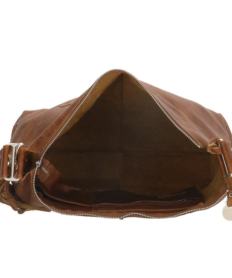 So Dutch Bags So Dutch Schoudertas Studs - Cognac