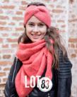 LOT83 LOT83 Scarf Nina - Coral