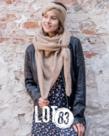 LOT83 LOT83 Scarf Nina - Camel
