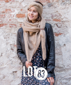 LOT83 Scarf Nina - Camel