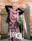 LOT83 LOT83 Scarf Nina - Pink