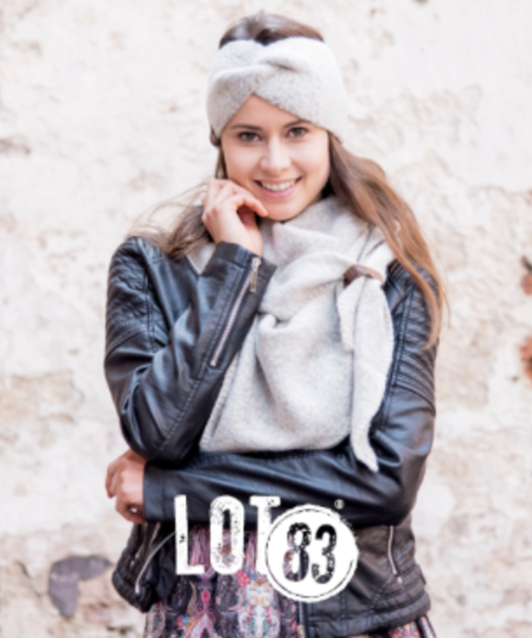 LOT83 LOT83 Scarf Nina - Off White