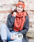 LOT83 LOT83 Scarf Nina - Rust