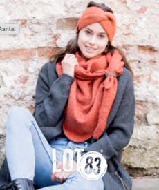 LOT83 Scarf Nina - Rust