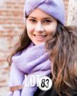 LOT83 LOT83 Scarf Fem - Lilac