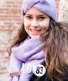 LOT83 Scarf Fem - Lilac