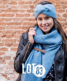 LOT83 Scarf Fem - Jeans Blue
