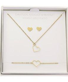 ByJam Gift Set Gold - Heart