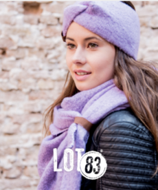LOT83 Scarf Nina - Lila