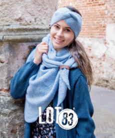 LOT83 Scarf Nina - Ijsblauw
