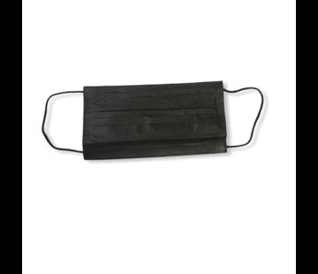 3-laags mondkapjes 10 stuks zwart