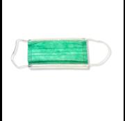 3-laags mondkapjes 10 stuks  groen