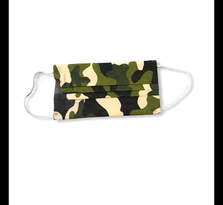 Army 3-laags mondkapjes Conform UNE-EN 14683-01-2020
