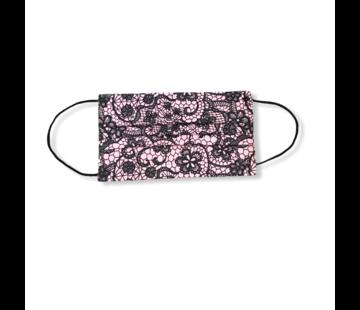 3-laags mondkapjes 10 stuks pink patroon