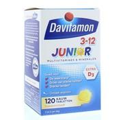 Davitamon Junior 3+ kauwtabletten banaan