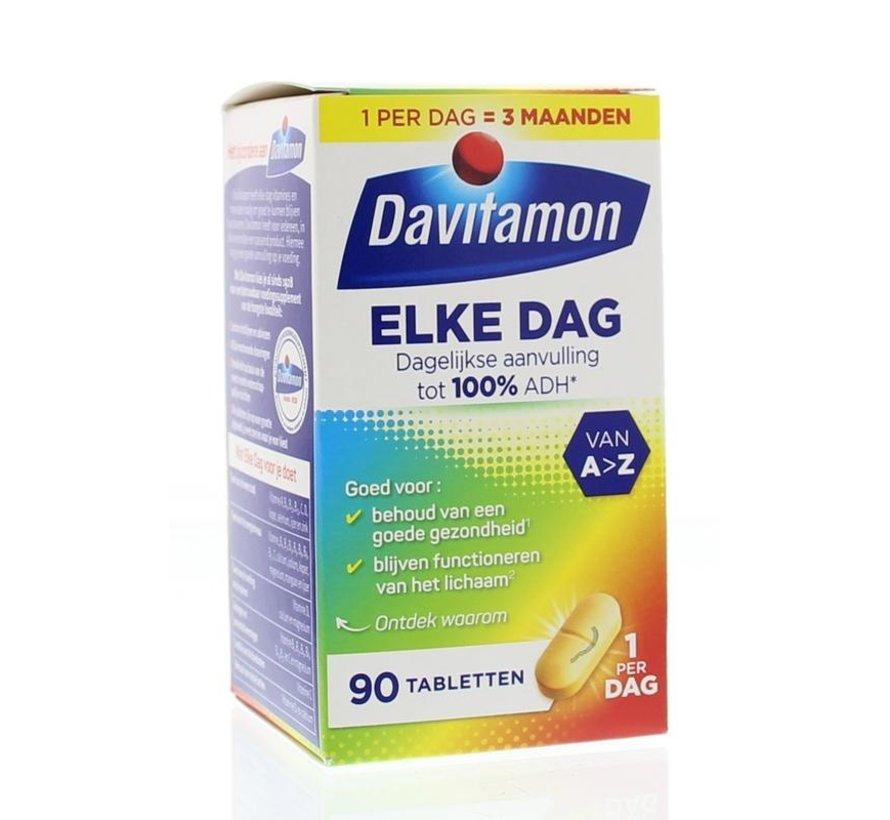 Elke Dag Met Vitamine C & D Tabletten