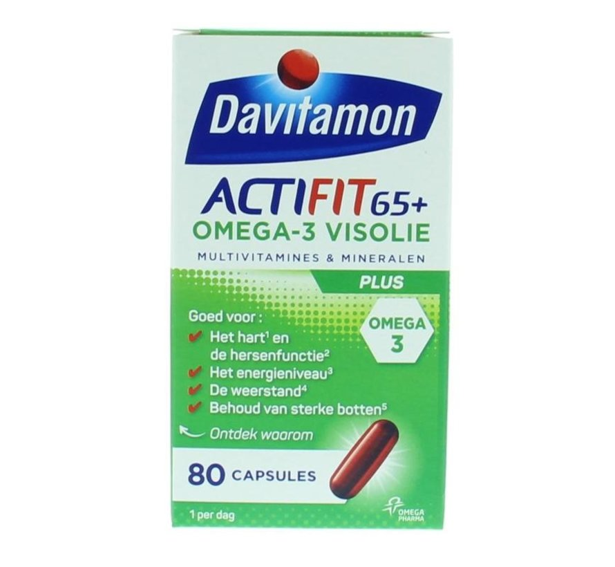 Actifit 65+ omega 3