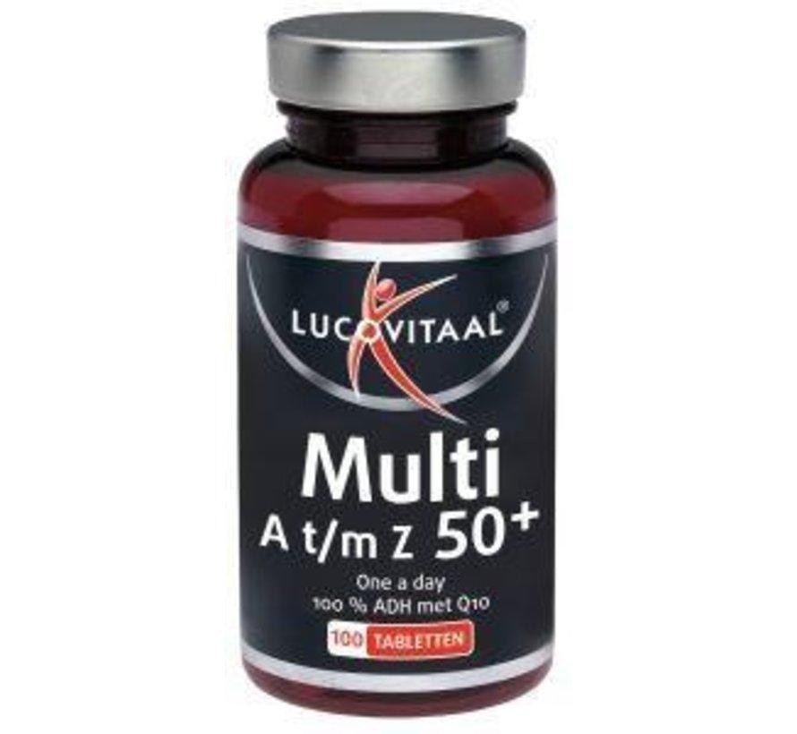Multi A t/m Z 50+