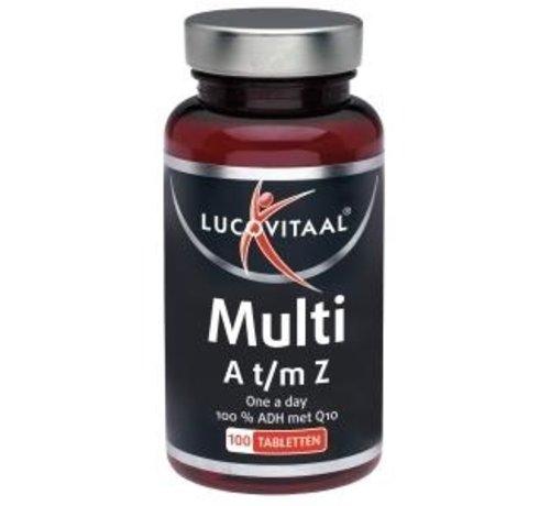 Lucovitaal Multi A t/m Z +Q10
