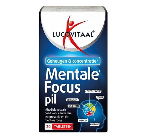 Lucovitaal Mentale focus pil