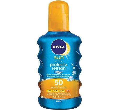 Nivea NIVEA SUN Dry Touch Transparante Zonnespray SPF 50 - 200 ml