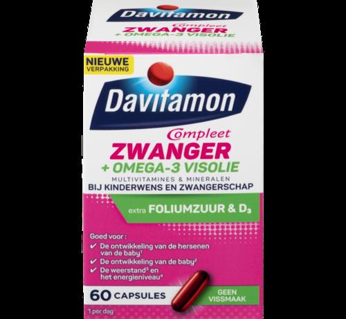 Davitamon Compleet Zwanger + Omega-3 Visolie