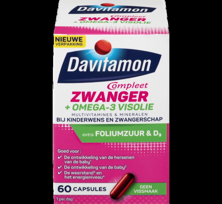 Compleet Zwanger + Omega-3 Visolie