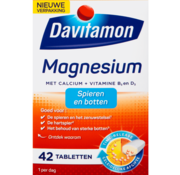 Davitamon Magnesium Met Calcium + Vitamine D Tabletten