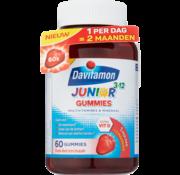 Davitamon Junior 3-12 Gummies Aardbeiensmaak