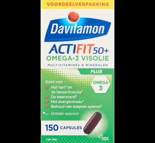 Davitamon Actifit 50+ omega 3