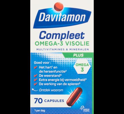 Davitamon Compleet omega 3 vis