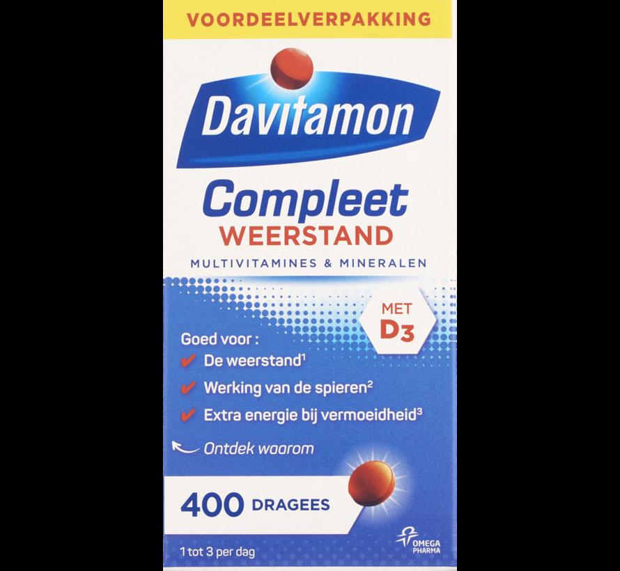 Compleet Weerstand Vitamine C & D tabletten