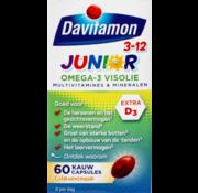 Davitamon Junior 3+ omega 3 visolie