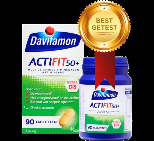 Davitamon Actifit 50+ Tabletten