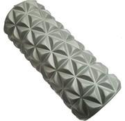 Bodymass Foam Massageroller   Fitness   Trigger Point Massage   Yoga   14,5 x 33 cm   Grijs