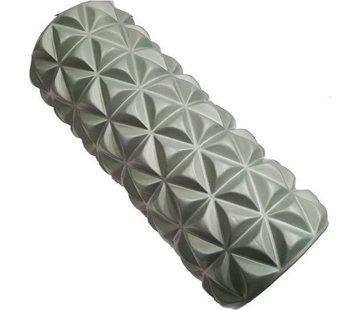 Bodymass Foam Massageroller | Fitness | Trigger Point Massage | Yoga | 14,5 x 33 cm | Grijs